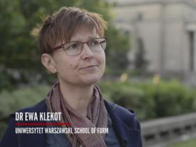 kadr z wywiadu z dr Ewą Klekot