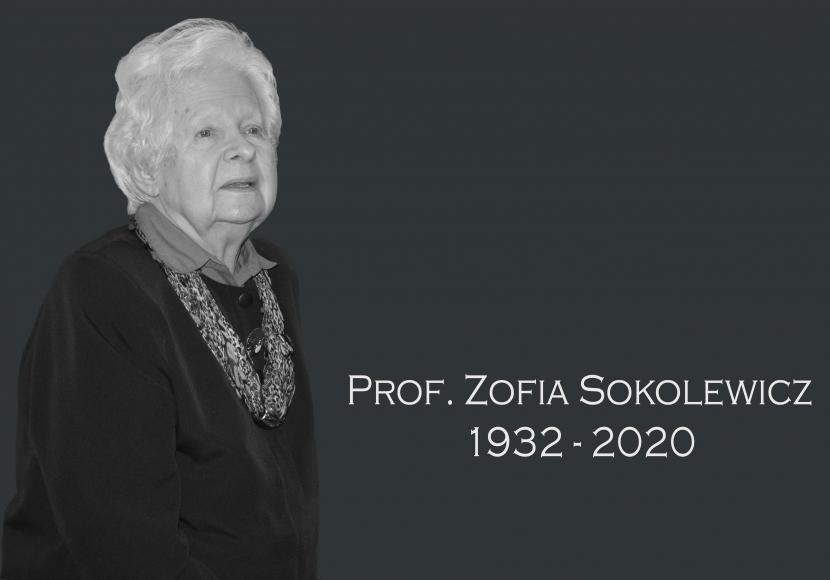 prof. Zofia Sokolewicz